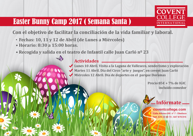 Easter Bunny Camp