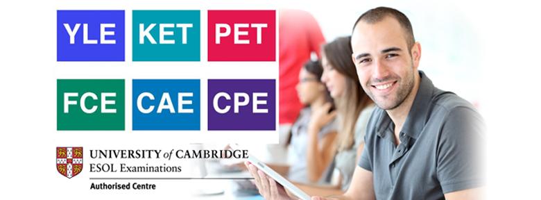 Universitarios y Profesionales Cambridge English PET (B1), First (B2), Advanced (C1) y Proficiency (C2)