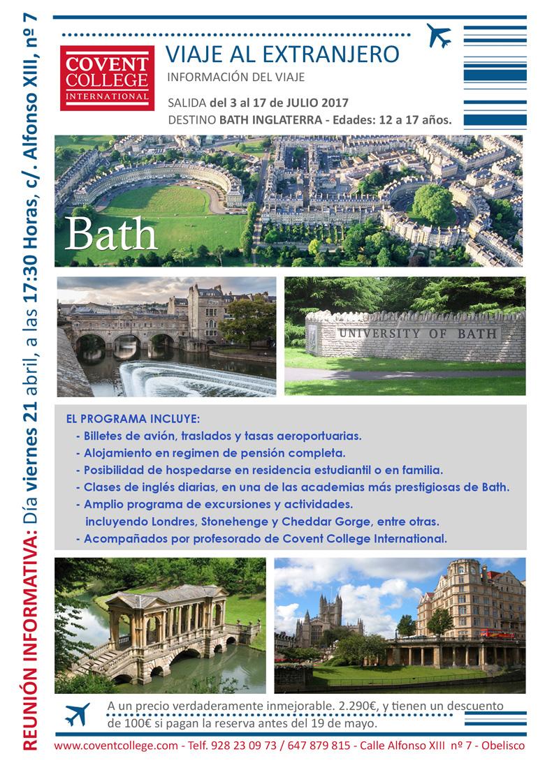 viaje al extranjero Bath